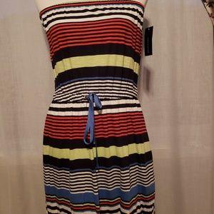 cf88b3b3832a Tommy Hilfiger Dresses - Tommy Hilfiger Maxi Dress Strapless Striped